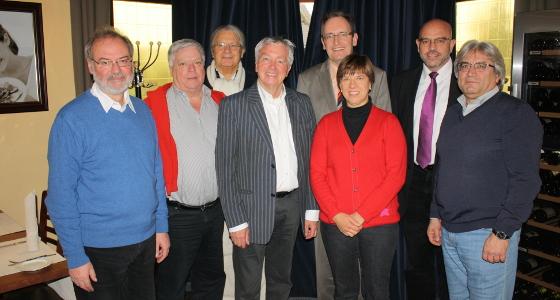 Der Fraktionsvorstand der SPD-Kreistagsfraktion